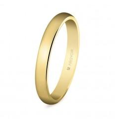 Alianza de boda oro 3mm (50306)