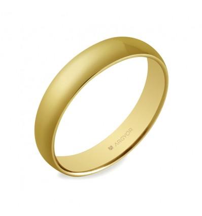 ALIANZA MOD. 5640001. Alianza boda 4mm oro confort (5640001)