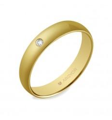 Alianza boda 4mm confort (5640001D)