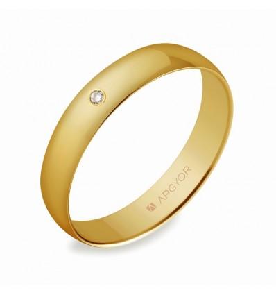 Alianza de boda oro 50403D
