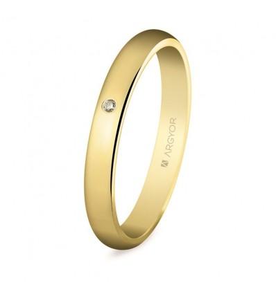 Alianza de boda oro 50306D