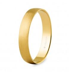 Alianza boda oro 3,5mm satinada (5035S)