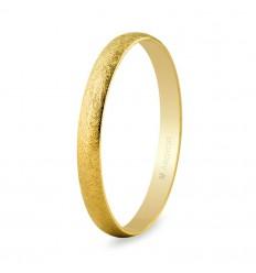 Alianza de boda oro 2,5mm hielo (50253H)