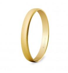 Alianza boda oro 3mm texturizada (50302T