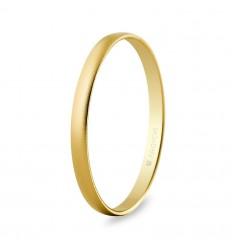 Alianza oro efecto arena 2mm (50201M)