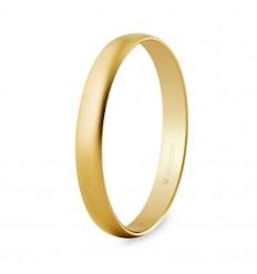 Alianza boda oro 3mm arena (50302M)