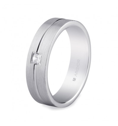 ALIANZA MOD. 5755153N. Alianza plata 5,5mm confort (5755153N)