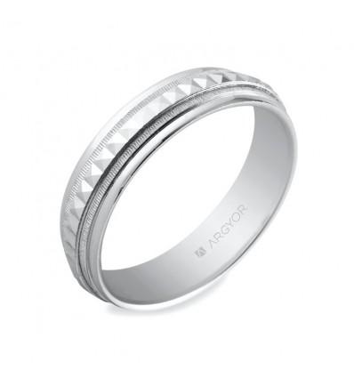 ALIANZA MOD. 5750152. Alianza de plata 5mm facetada (5750152)