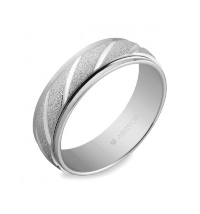 ALIANZA MOD. 5760136. Alianza de plata 6mm (5760136)