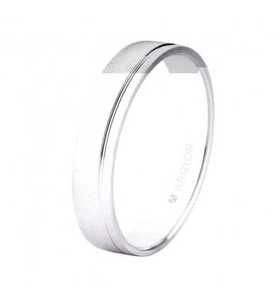 ALIANZA MOD. 5B45473. Alianza boda oro blanco 5B45473