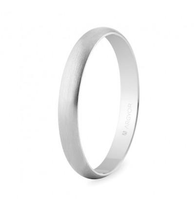 Alianza de boda oro blanco 5B305S