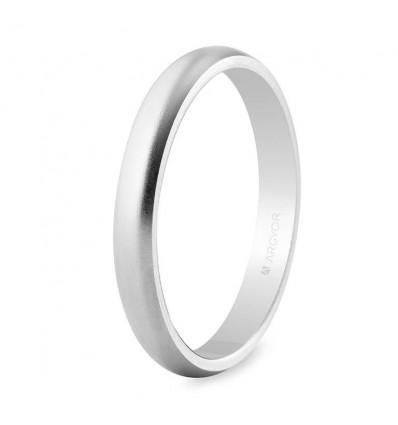 Alianza de boda oro blanco 5B306M