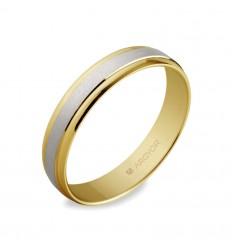 ALIANZA MOD. 5240044. Alianza de boda 2oros 5240044