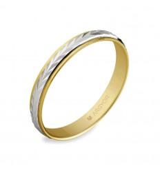 ALIANZA MOD. 5230283. Alianza de boda 2oros 5230283