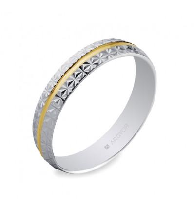 ALIANZA MOD. 5240296. Alianza de boda 2oros 5240296