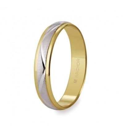 ALIANZA MOD. 5240138. Alianza de boda 2oros 5240138