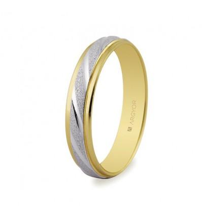 ALIANZA MOD. 5240136. Alianza de boda 2oros 5240136