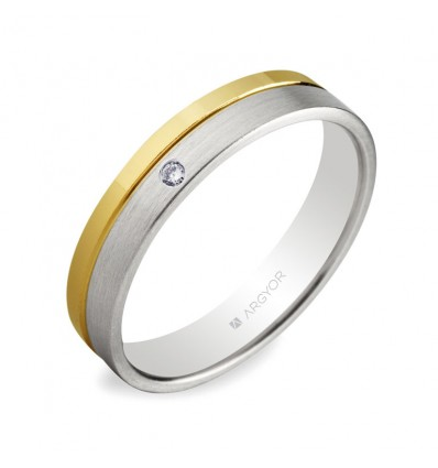 Alianza de boda 2oros 5240299D