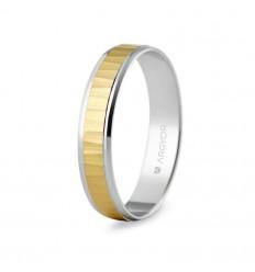 Alianza de boda bicolor 5241503