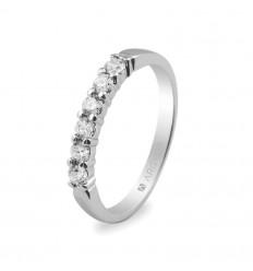 Sortija mod. 74B0015. Sortija con 6 diamantes 0.39ct