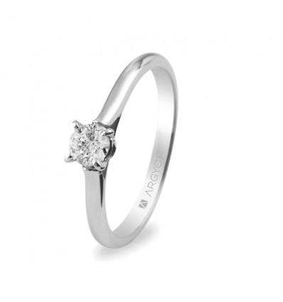 Sortija mod. 74B0018. Sortija con 1 diamante 0.30ct