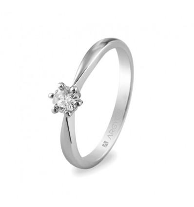 Sortija mod. 74B0016. Sortija con 1 diamante 0.25ct