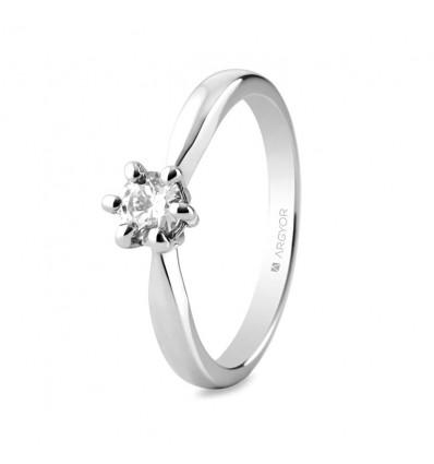 Sortija mod. 74B0040. Sortija con 1 diamante 0.34ct
