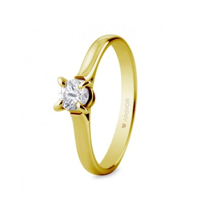 Sortija mod. 74A0044. Sortija con 1 diamante 0.34ct