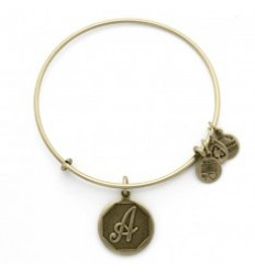 PULSERA ALEX AND ANI LETRA A