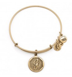 PULSERA ALEX AND ANI LETRA J DORADA