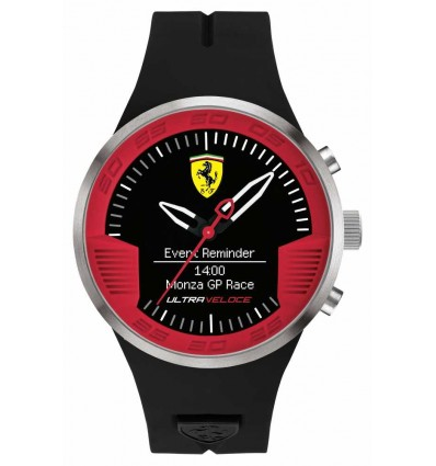 RELOJ SCUDERIA FERRARI ULTRAVELOCE SMART 46 MM.