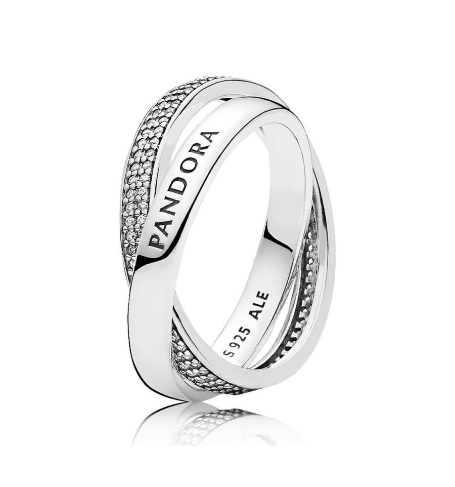 anillos pandora de compromiso