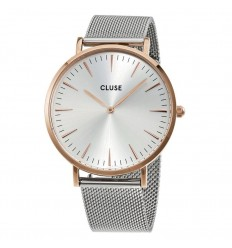 RELOJ CLUSE LA BOHEME ROSE AND SILVER