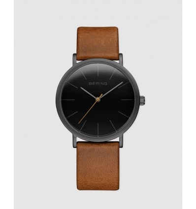 RELOJ BERING MALLA MILANESA MARRON CLASSIC COLLECTION