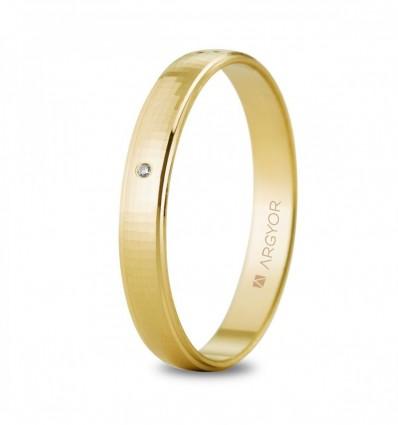 Alianza oro diamante 5130502D