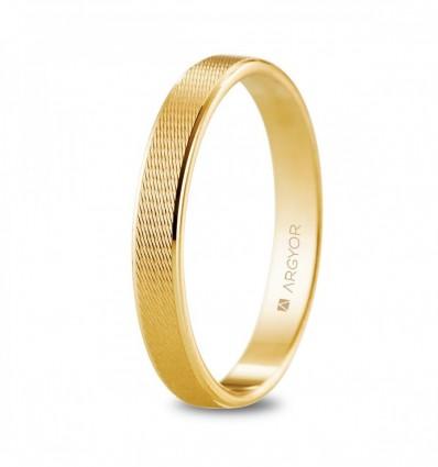 Alianza oro amarillo 3 mm