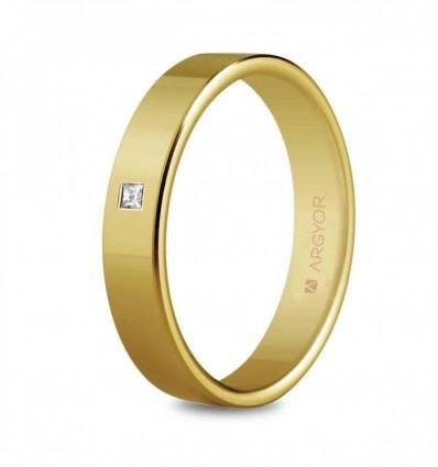 Alianza oro diamante 5140150P