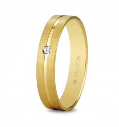 Alianza oro diamante 5140494P