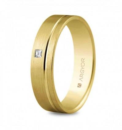 Alianza oro diamante 5150316P