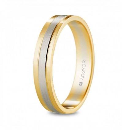 Alianza oro bicolor 5240525