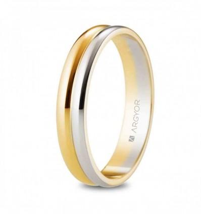 Alianza oro bicolor 5240526